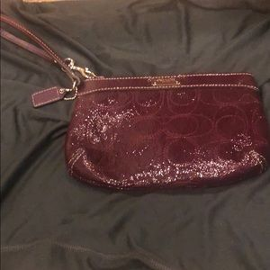 Never used! COACH Wristlet